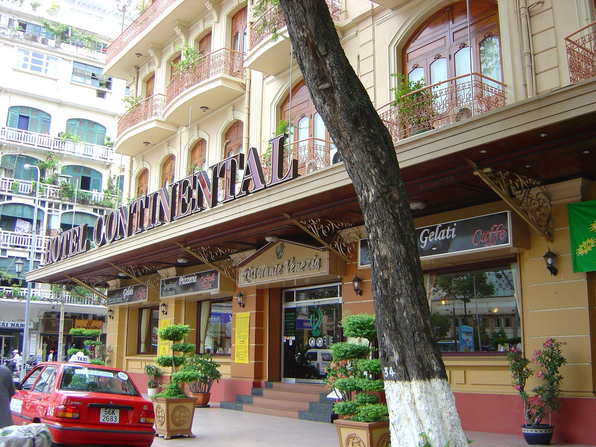 Hotel Continental Ho Chi Minh City Was Built In 1880 By The