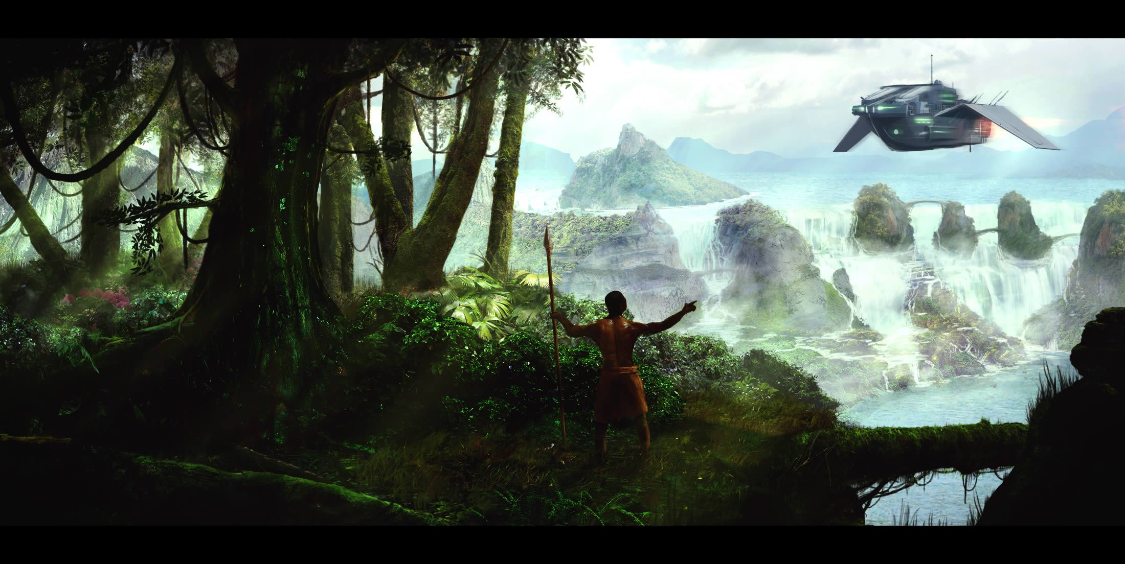 Use photography to create a scenic matte painting from a sketch in use photography to create a scenic matte painting from a sketch in photoshop baditri Choice Image