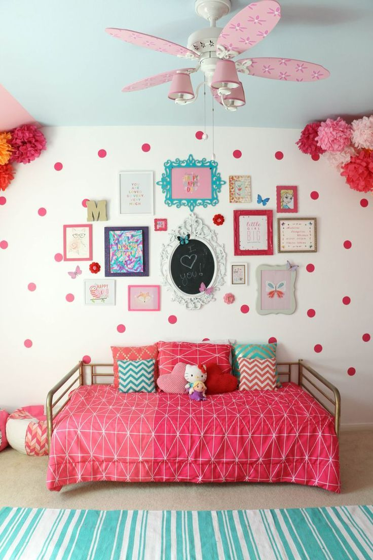 Girl wall decor ideas