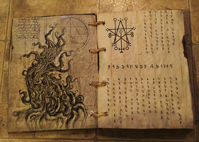 Spell Book Book Of Shadows Grimoire Necronomicon Book Of The Dead Img 0462 Jpg Book Of Shadows Grimoire Grimoire Book