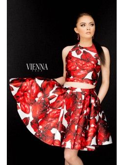 Vienna V-6011 | Find this 2016 Homecoming dress at www.henris.com