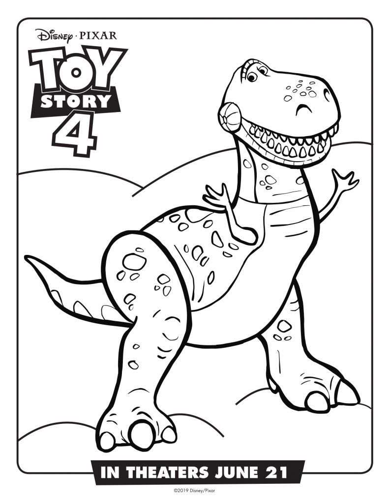 Toy Story 4 Coloring Pages Best Coloring Pages For Kids Toy Story Coloring Pages Coloring Books Disney Coloring Pages