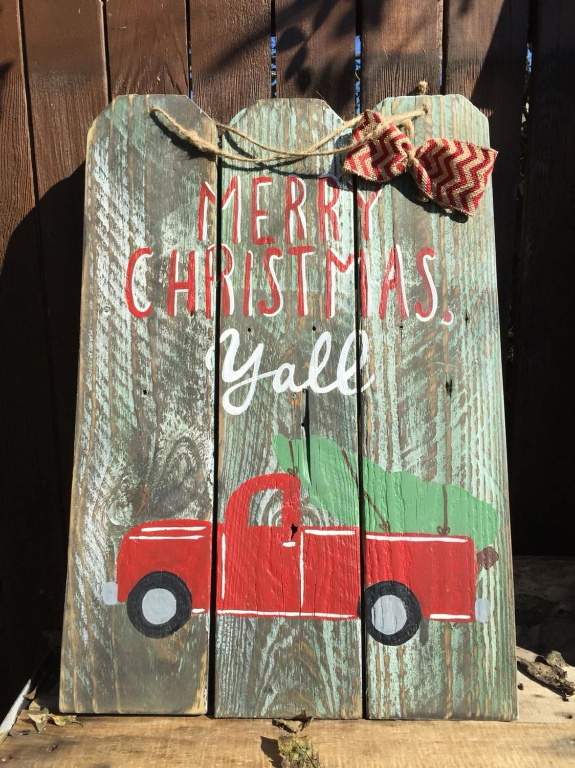 wood craft signs ideas truck merry y all wooden sign craft 5757