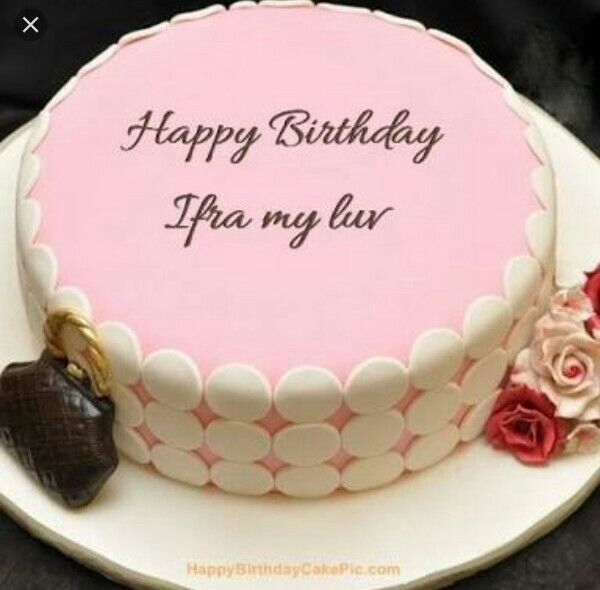 Pin By Queenfaree On Ifra Birthday Cake Pinterest