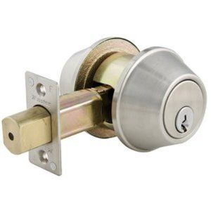 DOUBLE Consider installing double cylinder locks where you need