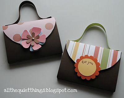 candy or gum purse