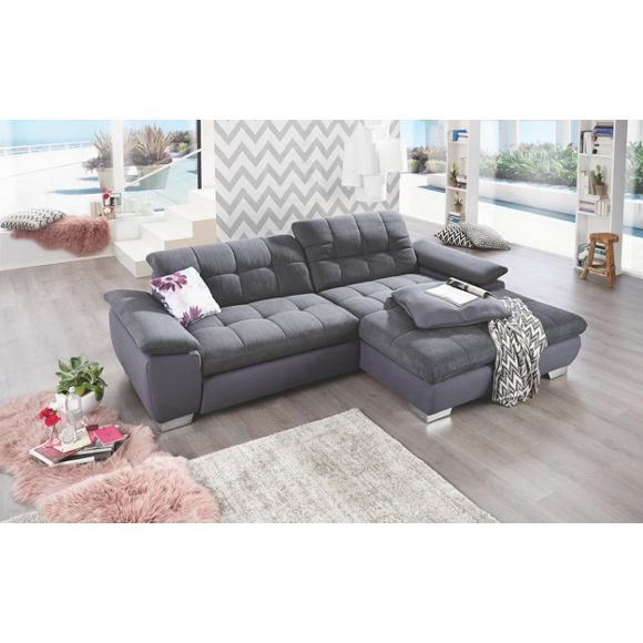 Wohnlandschaft In Textil Grau In 2019 Home Couch Sofa Home