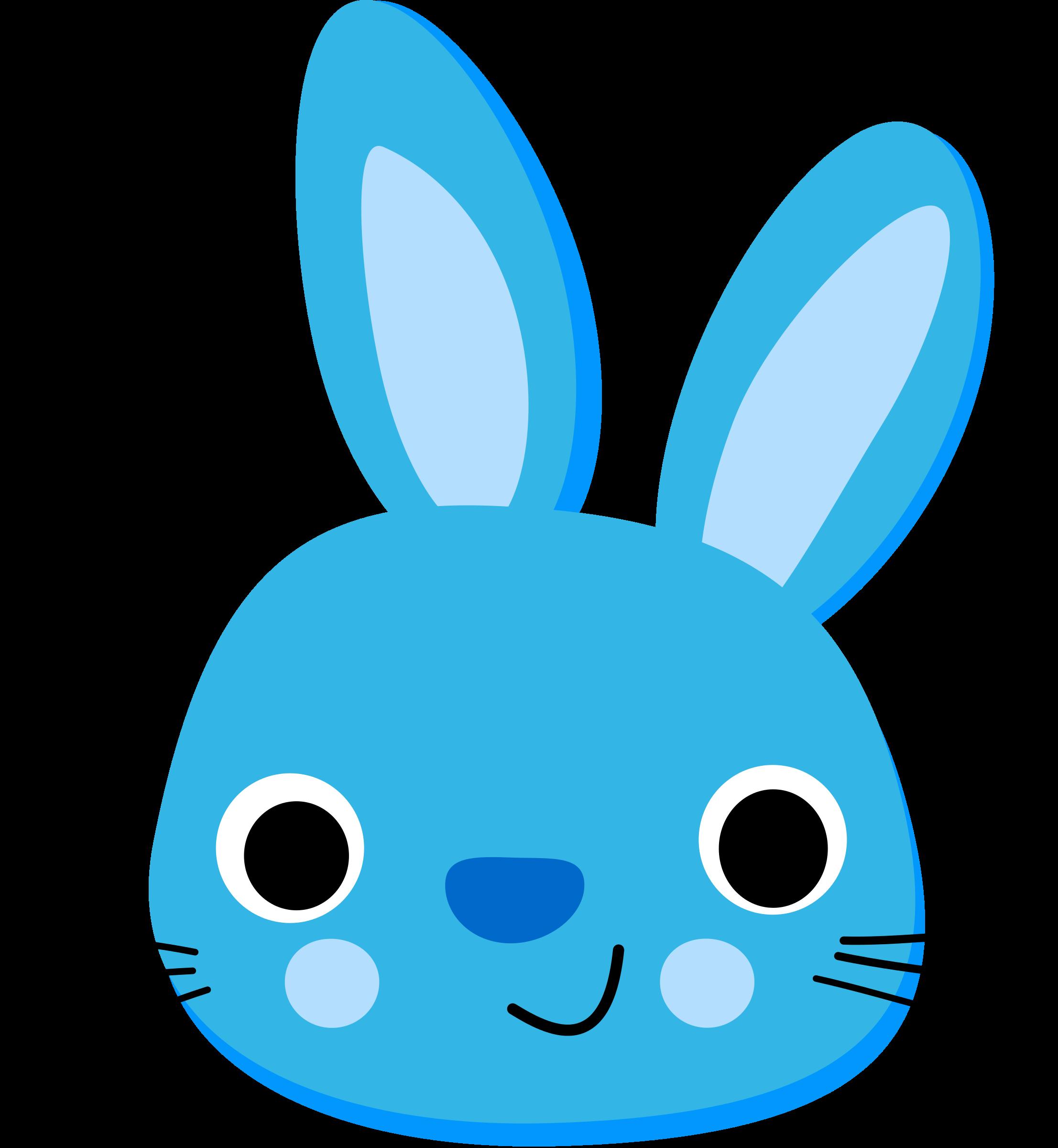 blue rabbit pinterest rabbit rh pinterest com  clip art bunny rabbits