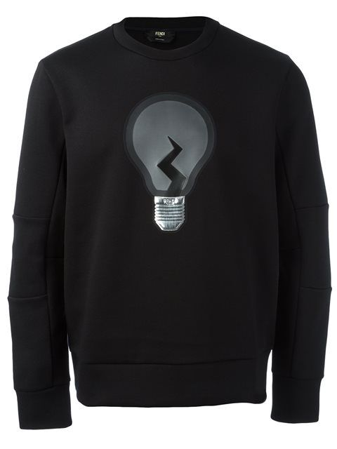 FENDI 'Id-Ea' Sweatshirt. #fendi #cloth #sweatshirt