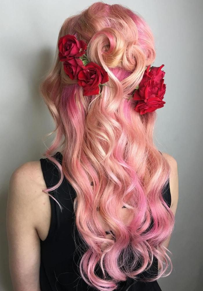 20 Cotton Candy Hairstyles That Are As Sweet As Can Be In 2019
