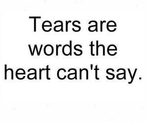 Tears.. | via Tumblr