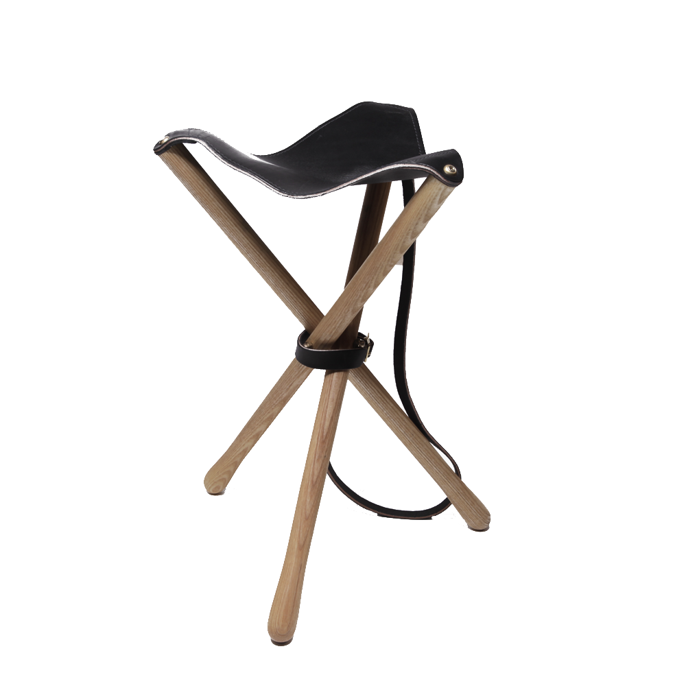 Tremendous Craft Caro Black Camp Stool Ash Hardwood Tripod Ocoug Best Dining Table And Chair Ideas Images Ocougorg
