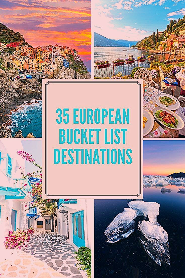 Photo of European Bucket List: 35 Things NOT To Miss When Traveling Europe