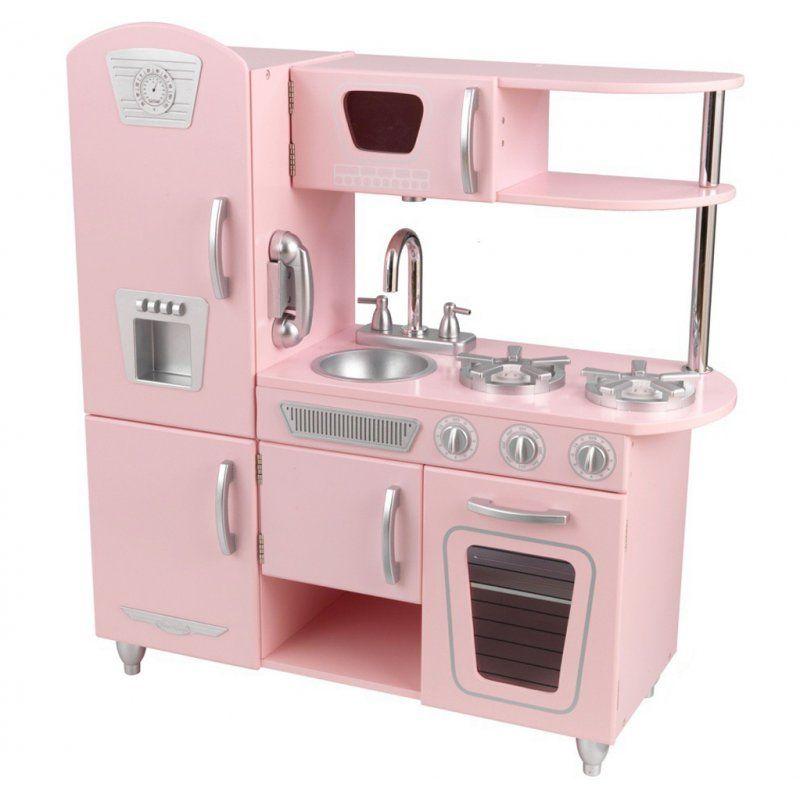 Https Brykacze Pl Kidkraft Drewniana Kuchnia Dla Dzieci Pink Vintage 6605 Html Kidkraft Kitchen Wooden Play Kitchen Kidkraft Vintage Kitchen