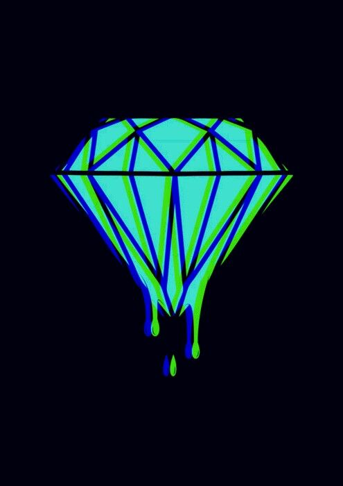 Diamond Supply Co, Tumblr GIF | Phone Wallpapers ...