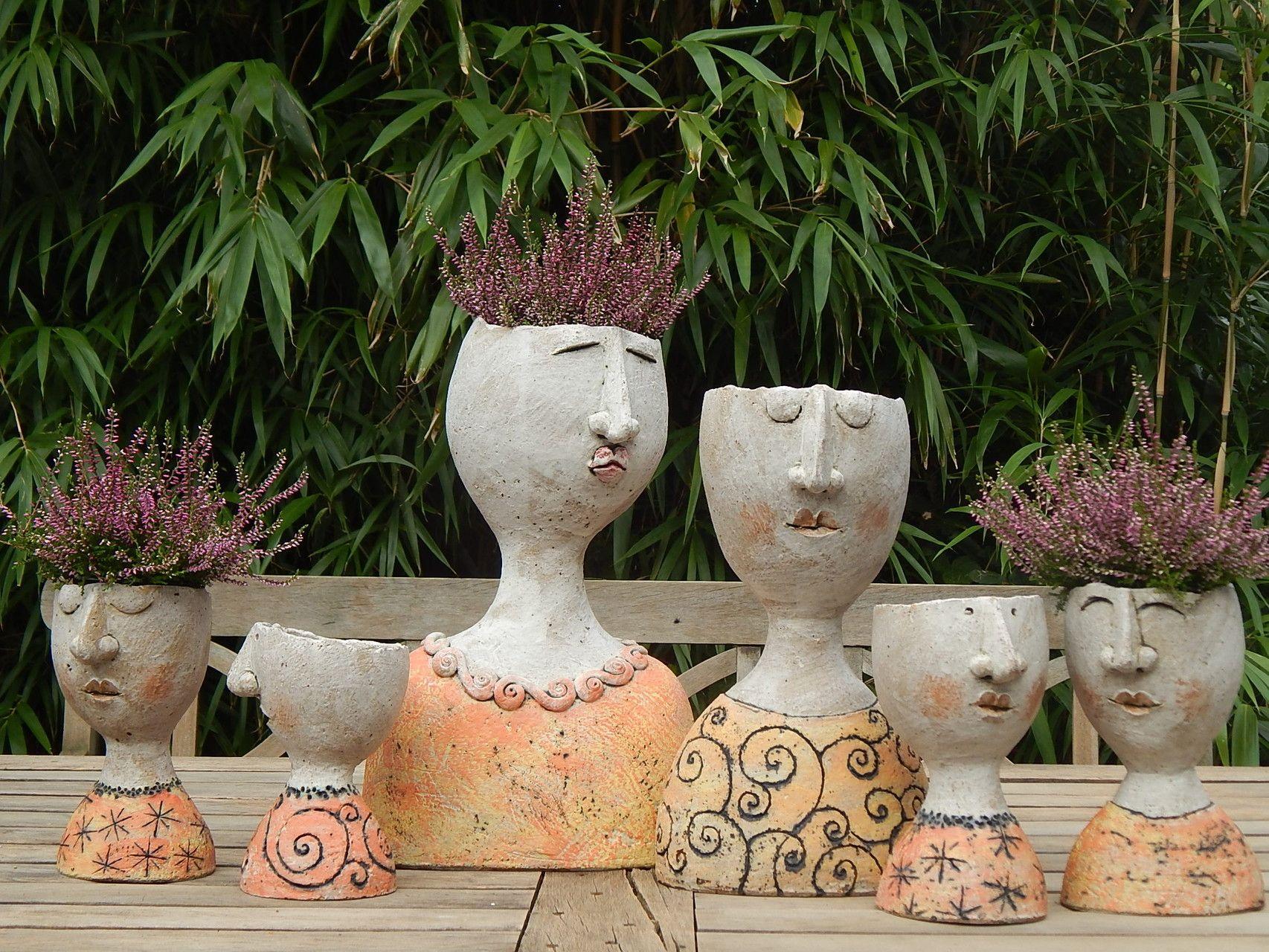 Petra De Jong Berger Diy Topferei Hand Gebaut Keramik Tonskulpturen