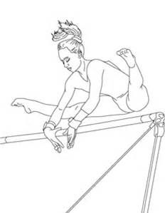 Gymnastics Coloring Pages Free Printable Bing Images Sports Coloring Pages