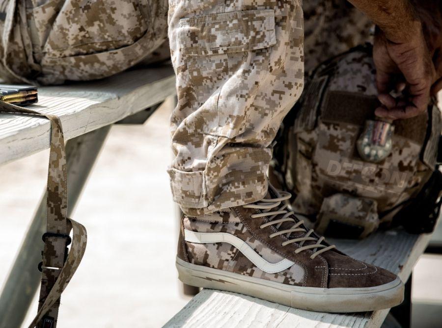 "DEFCON x Vans Syndicate ""Digi Camo Pack"" - SneakerNews.com"