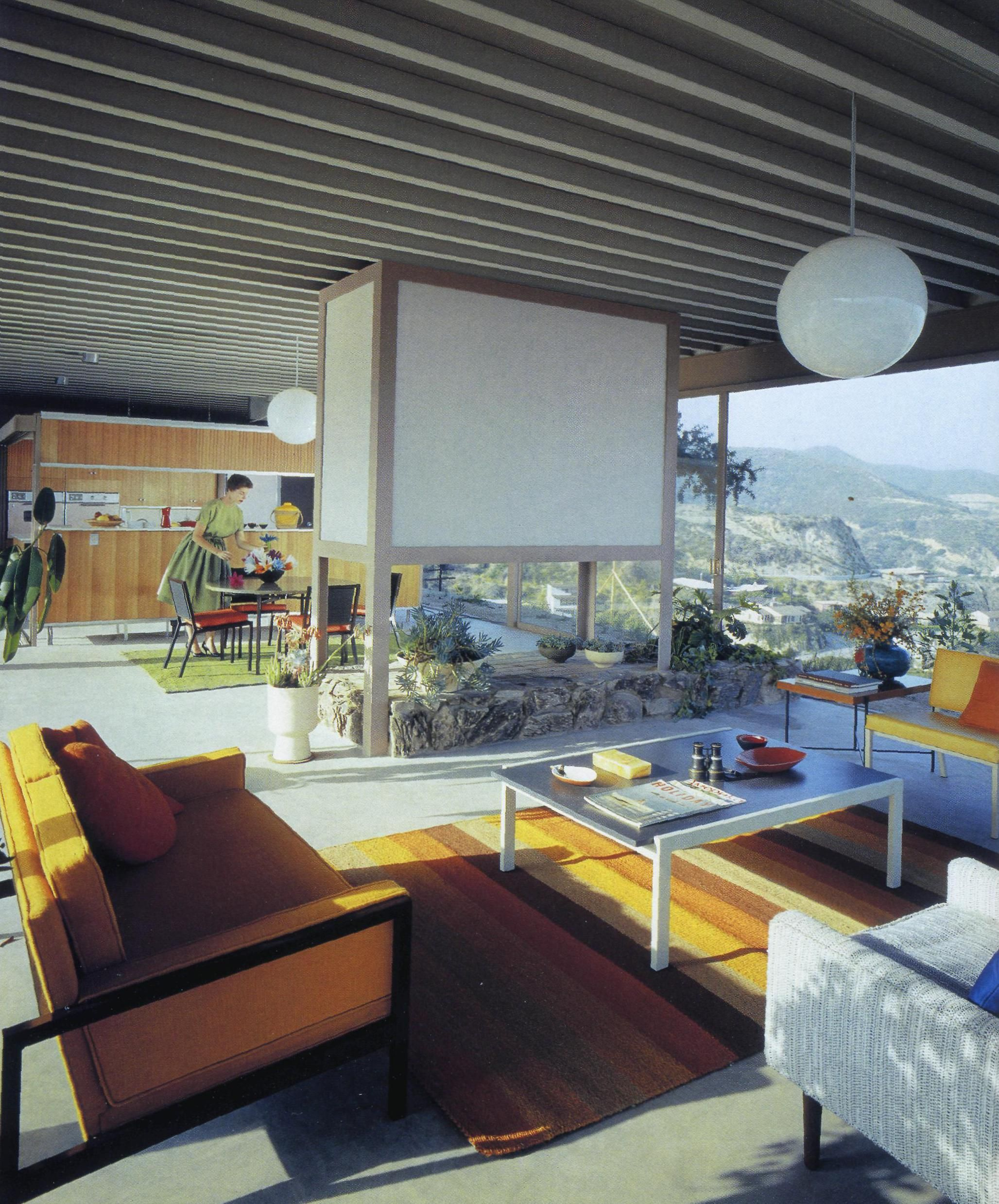 51 Modern Living Room Design From Talented Architects: Stahl House, Aka Case Study House #22, Hollywood Hills, CA