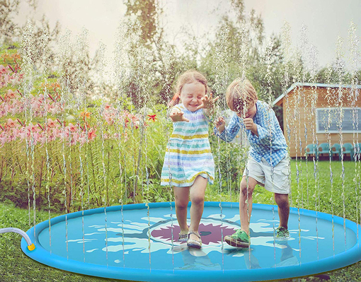 Sprinkle Pad Amp Splash Play Mat Sprinkler For Kids Outdoor