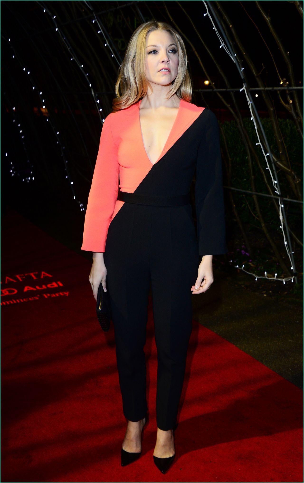Natalie Dormer Ee British Academy Awards 2015 Nominees Party In