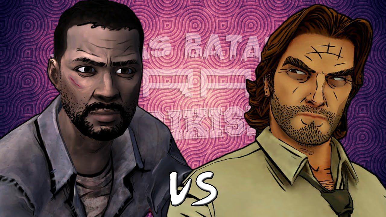 Lee Everett vs Bigby Wolf. Épicas Batallas de Rap del