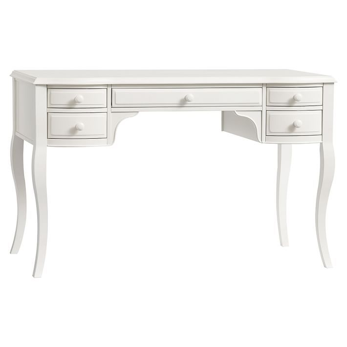 Lilac Classic Desk Classic Desk Vintage White Desk Antique White Furniture