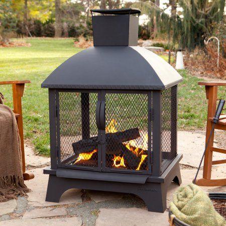 Landmann Redford Outdoor Fireplace Outdoor Wood Burning Fireplace Wood Burning Fire Pit Outdoor Fire Pit