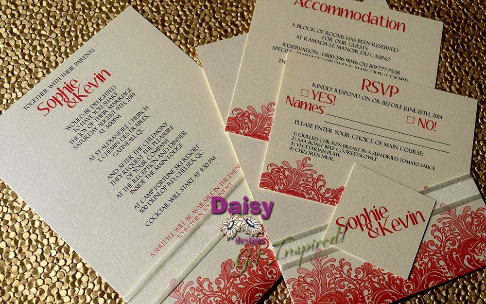 Our Coral Reef invitation set would be perfect for sea-side themed ...