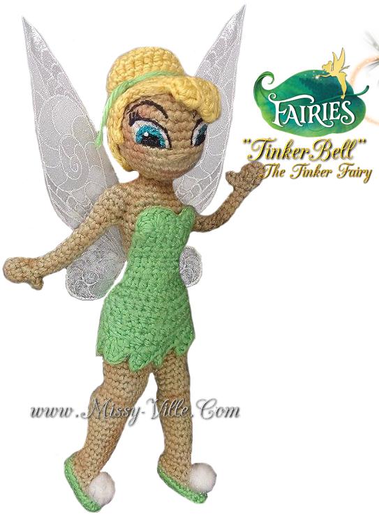 Disney\'s Tinkerbell ~ Crochet Amigurumi Doll by MissyBaque ...