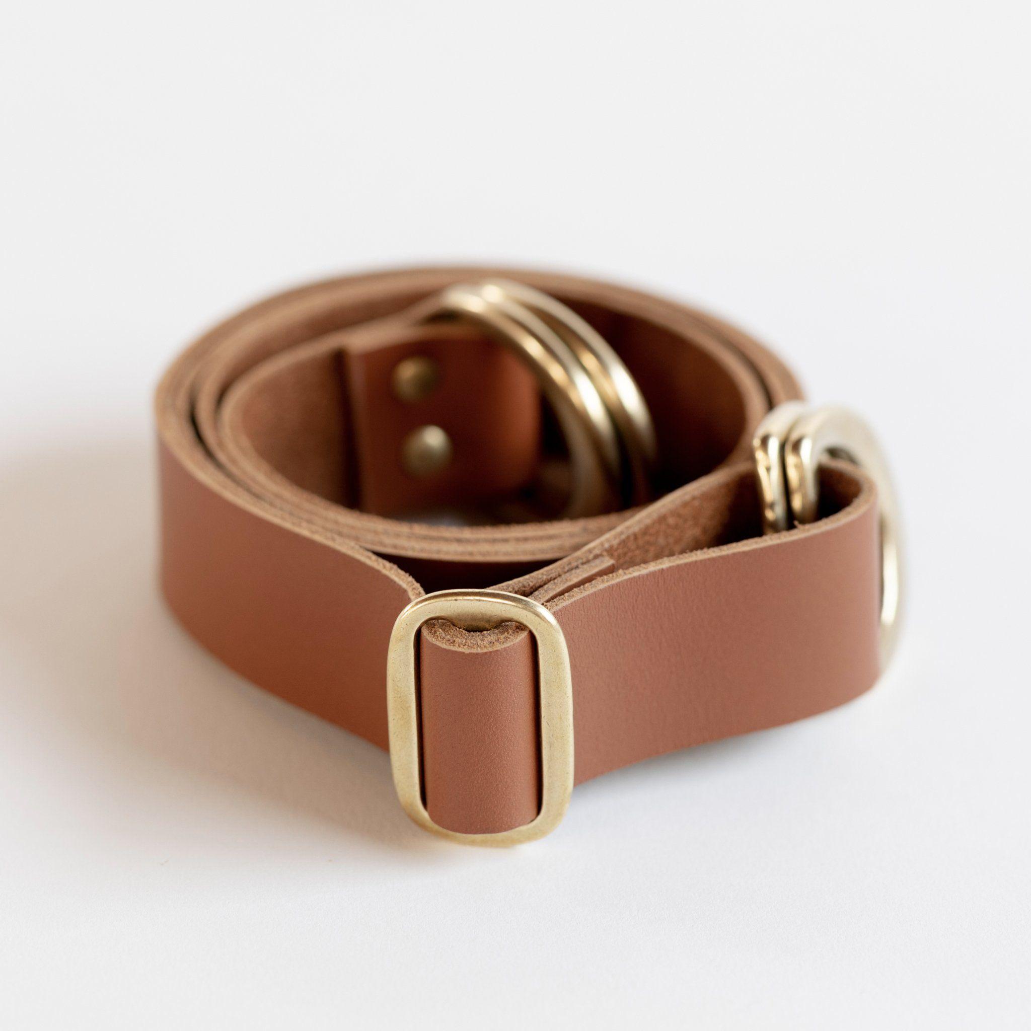 Adjustable Leather Strap (Caramel)【2020】