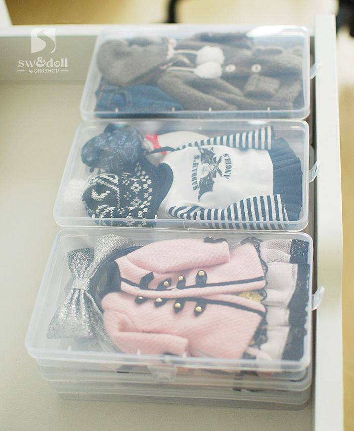 BJD Doll Clothes Storage Box 12 Points And 8 Points 6 Points 4 Points 3  Points