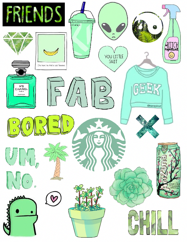 #LaptopsDibujo | Tumblr stickers, Aesthetic stickers ...