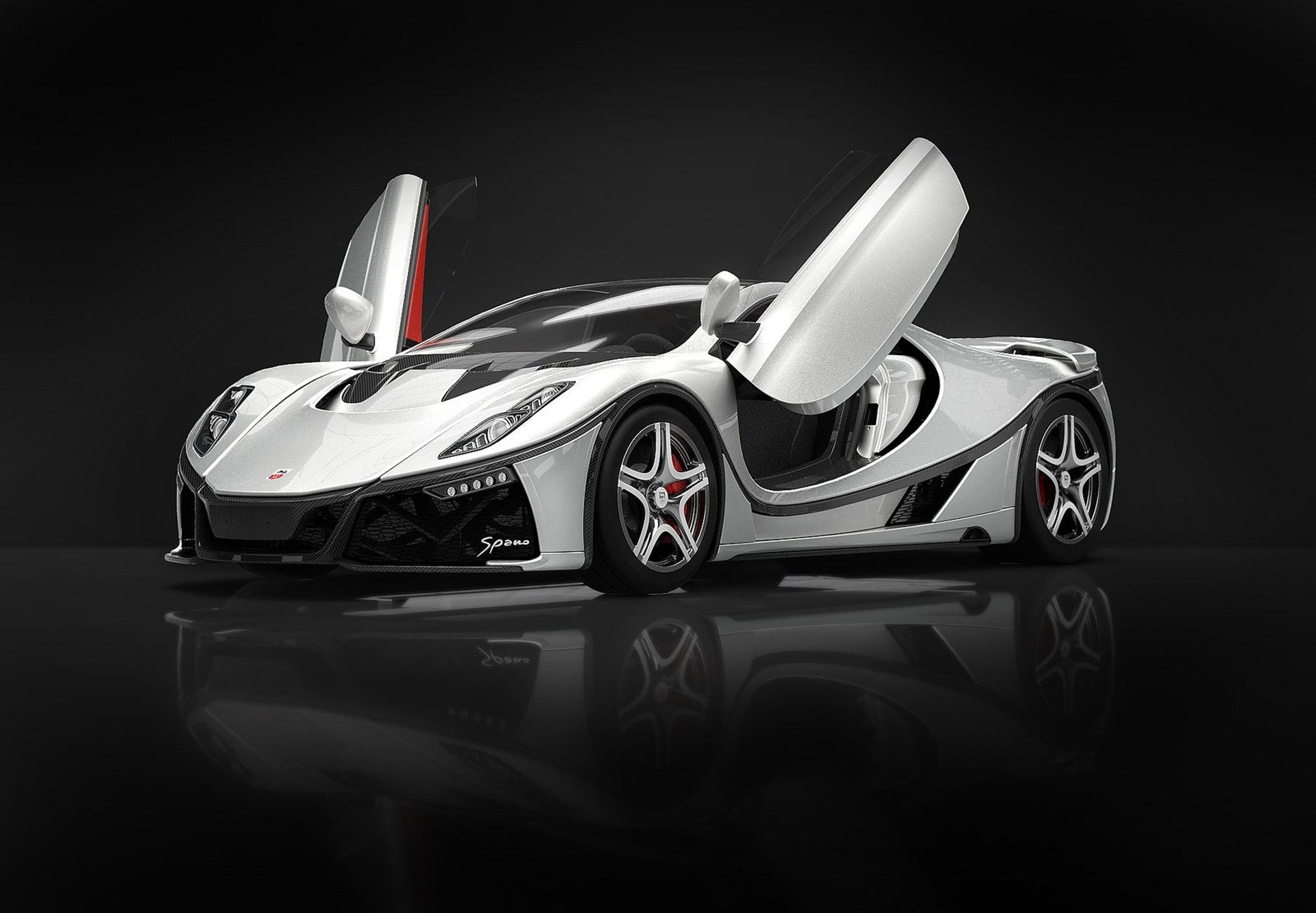 Spain S Gta Reveals New Version Of Spano V 10 Supercar At 2015 Geneva Motor Show Super Cars Geneva Motor Show Gta