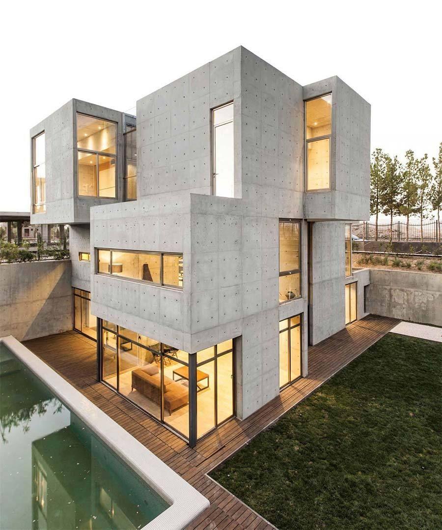 Modern architektur fassade architektur wohnung einrichtung sims 4 häuser modern wohnen beton haus modernes haus häuser modern bachelorarbeit