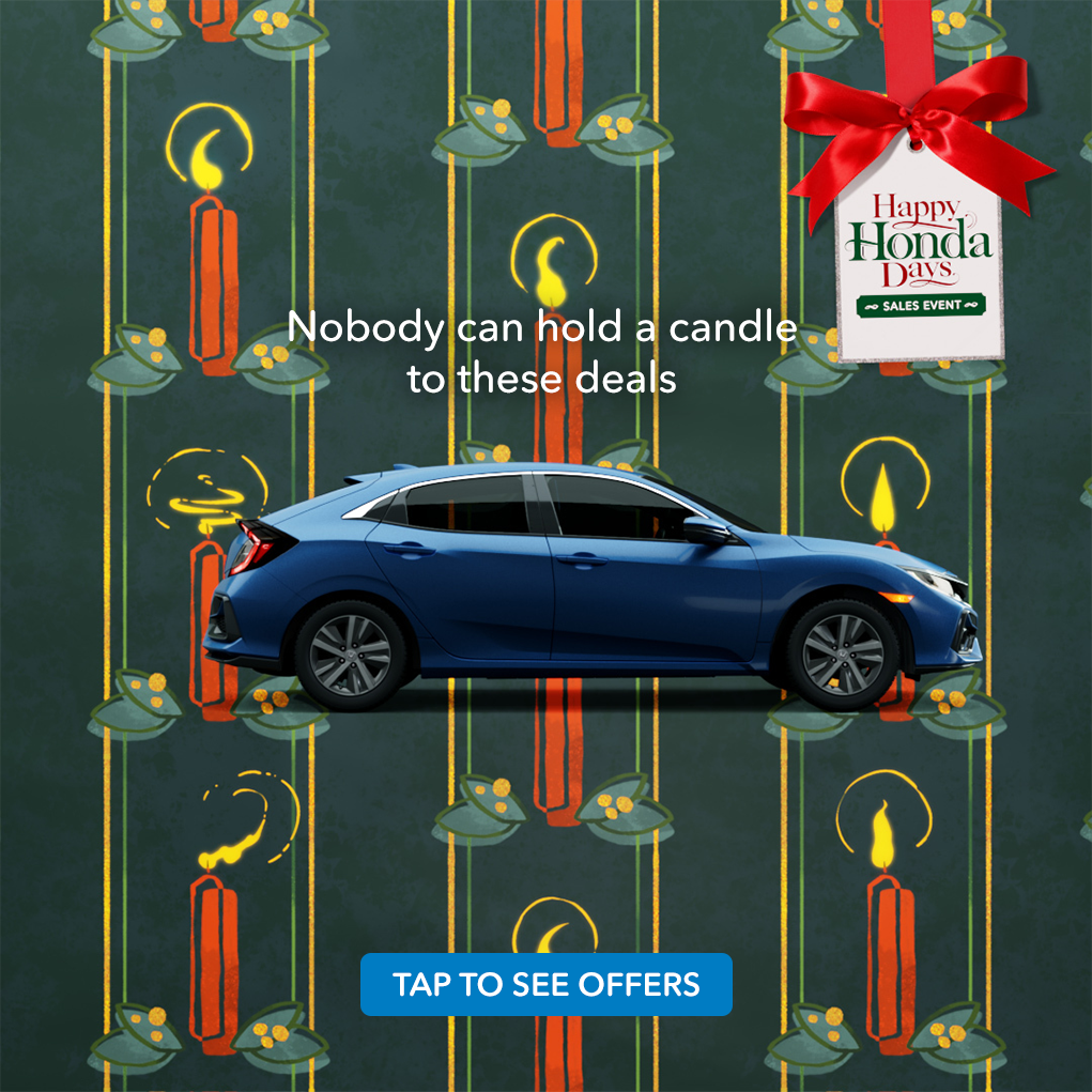 The Happy Honda Days Sales Event Is Happening Now, Which