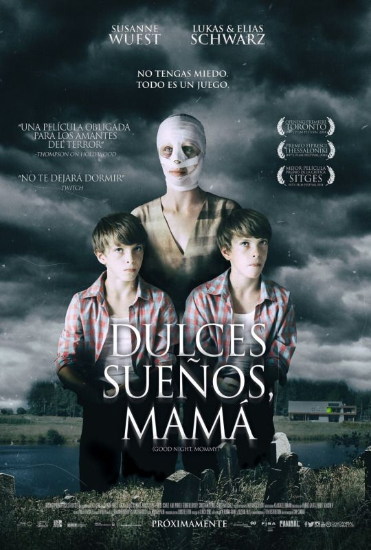 Mexican poster for goodnight mommy veronika franz severin fiala movie publicscrutiny Image collections