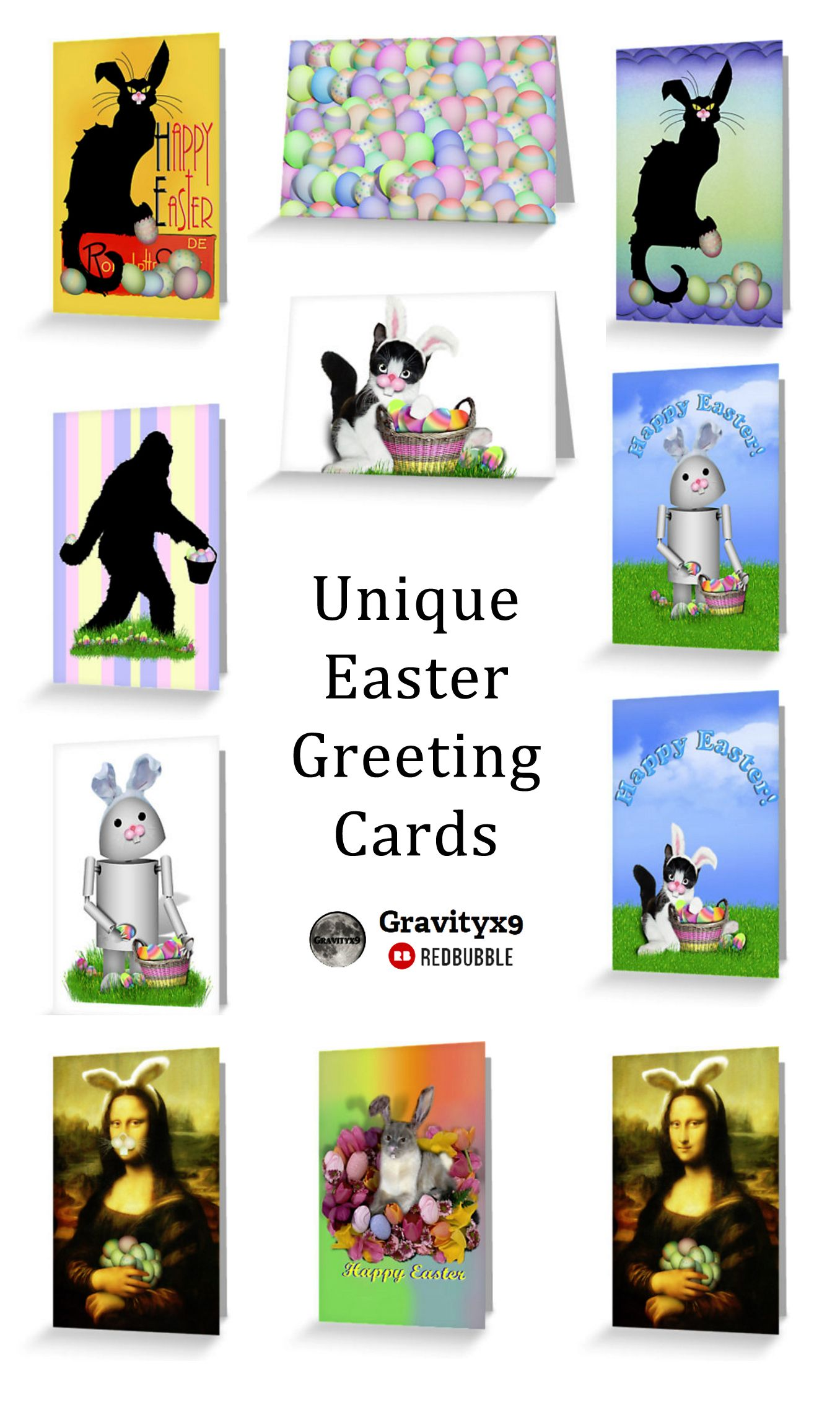 Send easter greetings with one of these unique cards by gravityx9 send easter greetings with one of these unique cards by gravityx9 at redbubble kristyandbryce Images
