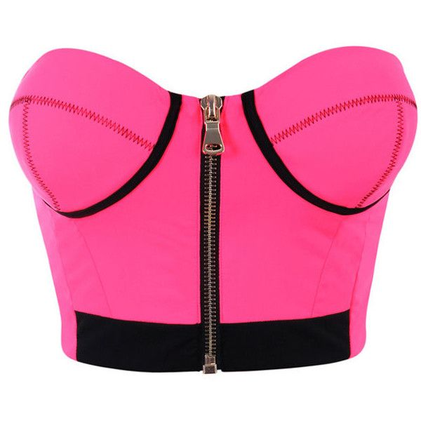 You Highlight My Life Neon Pink Crop Top   Fashion, Knit crop top