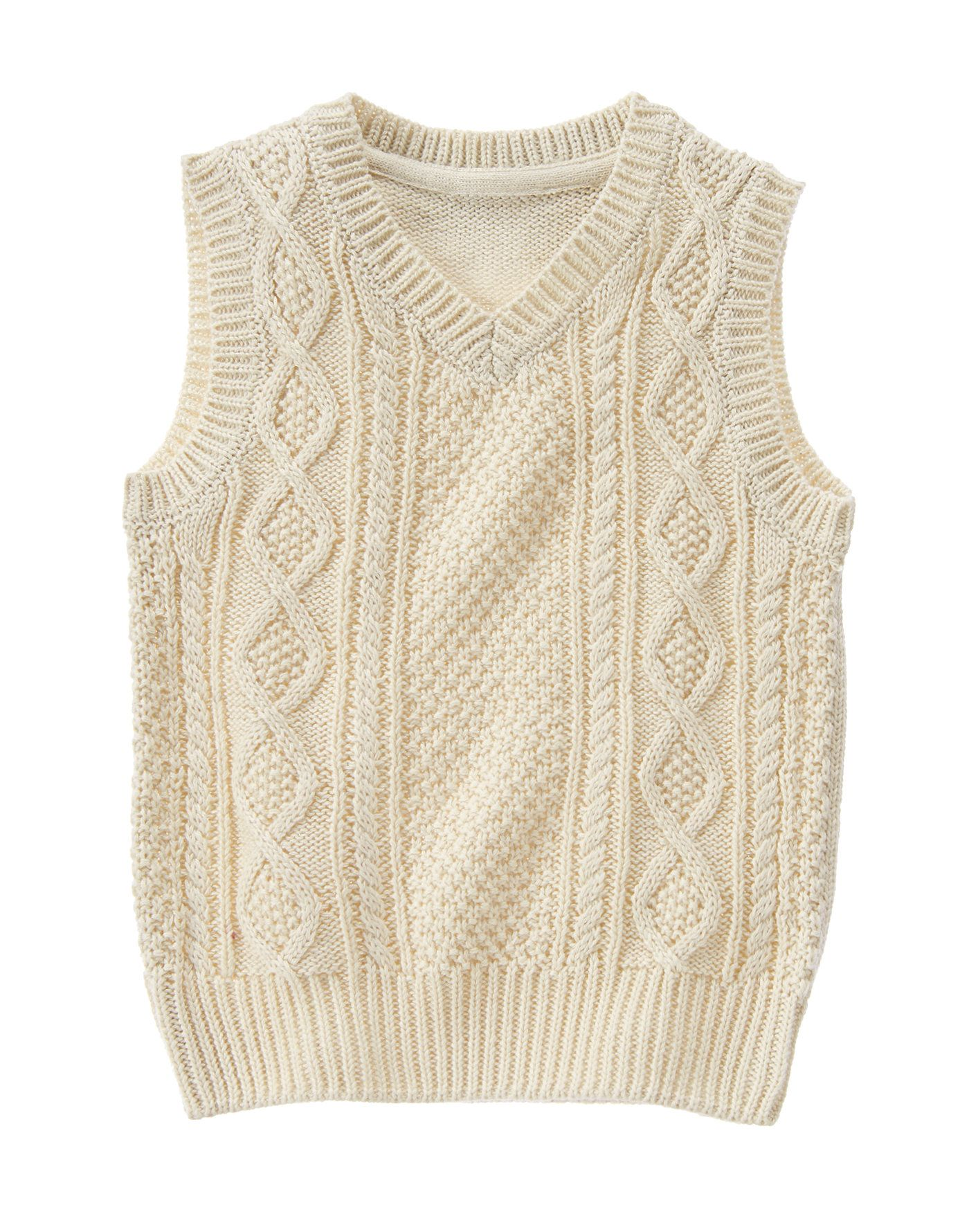 5862f52fbeaf Cable Knit Sweater Vest