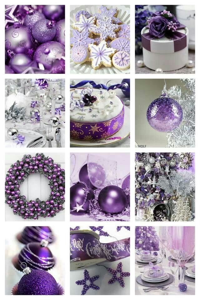Purple Christmas Christmas Pinterest Purple