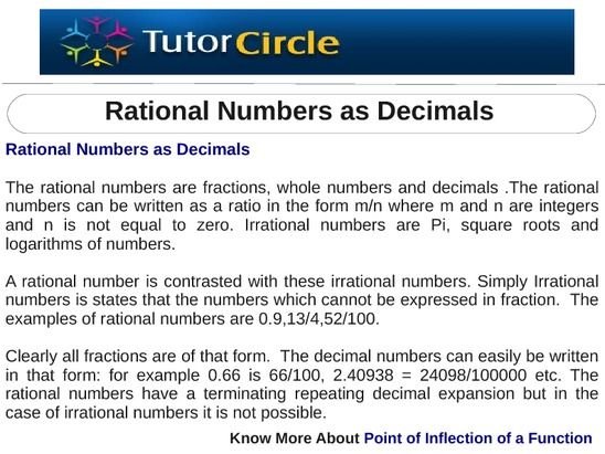 the rational numbers are fractions whole numbers and decimals the