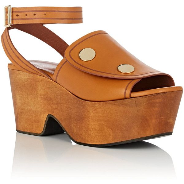 Derek Lam Leather Platform Sandals discount clearance edw4QoJm
