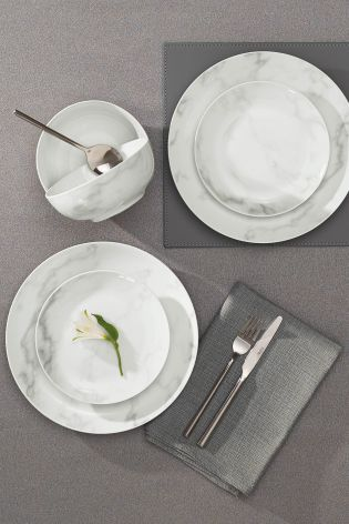 Can a table set up get any more Instagrammable? Marble dinnerware is a MUST this & Can a table set up get any more Instagrammable? Marble dinnerware is ...