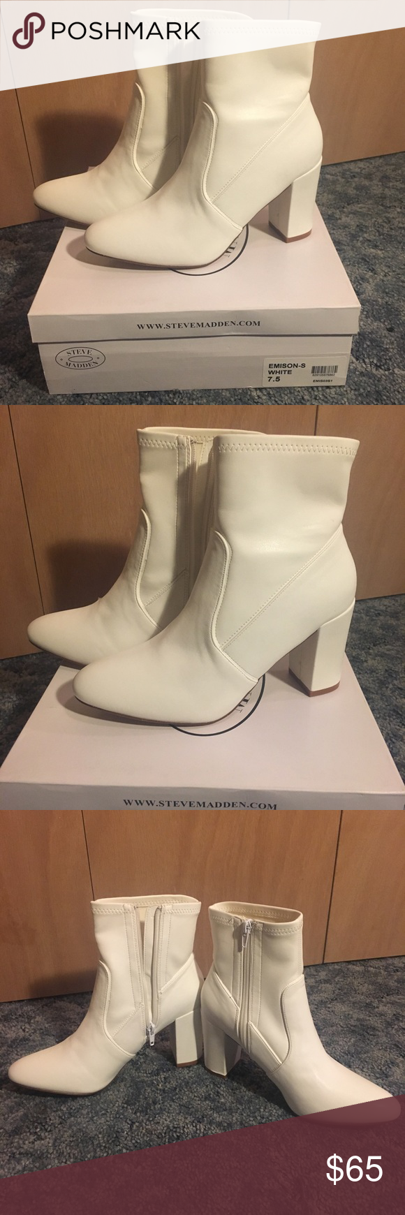 27425a722d7 NWT Steve Madden Emison-S White Boots Whether you re looking to give your