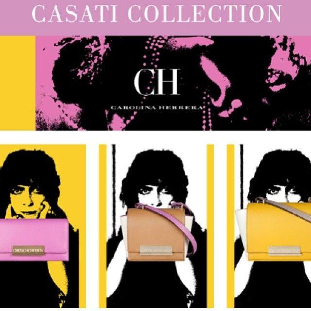 La nueva colección de carteras de @houseofherrera #casaticollection  #PV2014 #moda #fashion #bags #CH #itbag #ss14 #trendy #swagger @Blue Press #Padgram