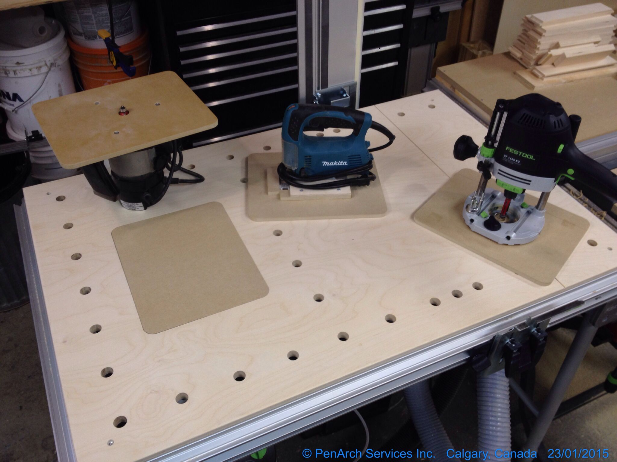Adding Some More Multi To My Festool Mft Festool Workbench Woodworking