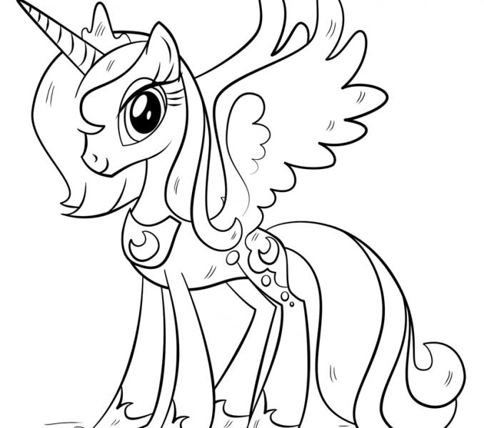 Los Más Lindos Dibujos De Unicornios Para Colorear Y Pintar A Todo