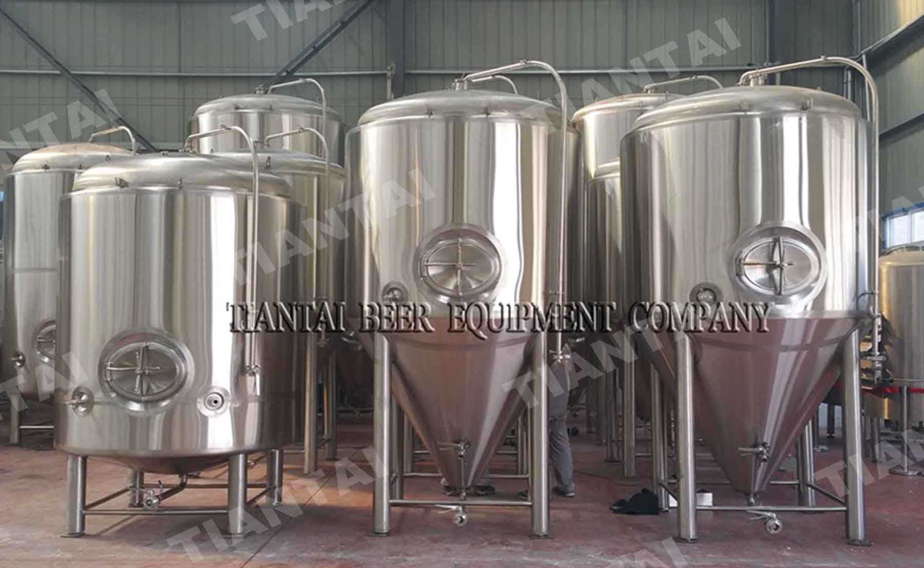 6000l Microbrewery Fermenter With Cooling Jacket Microbrewery