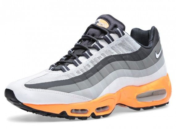 Nike Air Max 95 No-Sew - Light Base Grey - Orange - SneakerNews.com ... be602ca94